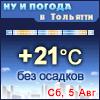Ну и погода в Тольятти - Поминутный прогноз погоды